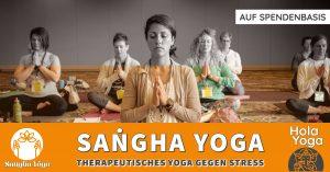 Saṅgha Yoga – Yogatherapie gegen Stress