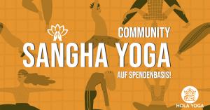 Saṅgha Yoga – Community Yoga auf Spendenbasis!