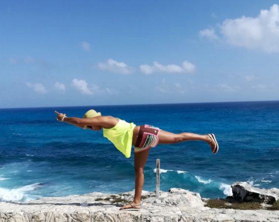 Yoga am Meer – Mexiko